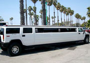 New Orleans White Hummer Limo