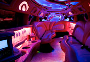 Pink Limousine in New Orleans