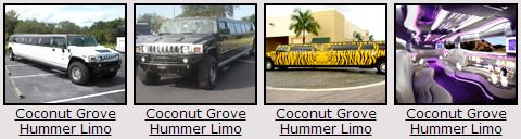 Coconut Grove Hummer Limos
