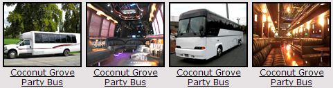 Coconut Grove Party bus