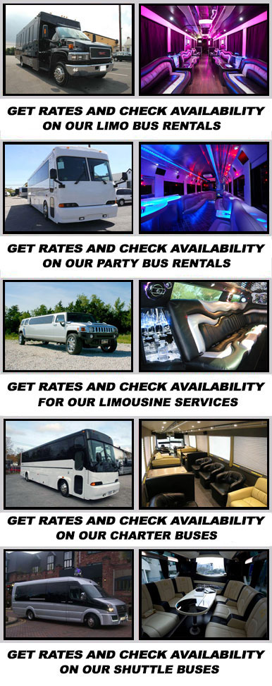 Goodyear Party Bus Rental