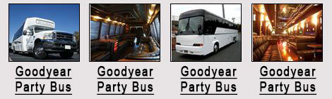 Goodyear party bus