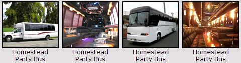 Homestead Party bus