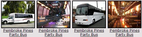 Pembroke Pines Party bus