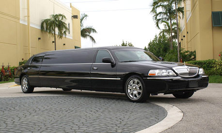 New Orleans Black Lincoln Limo