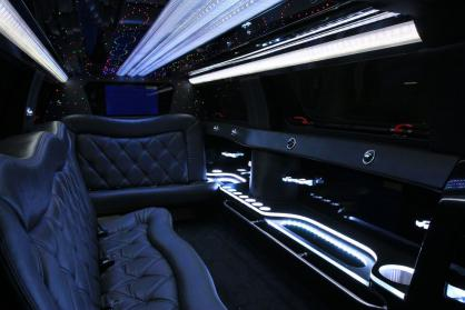 New Orleans Black Hummer Limo