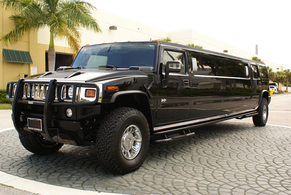 North Brunswick Black Hummer Limo