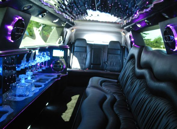 Oklahoma City Black Hummer Limo