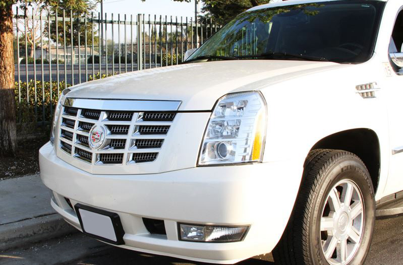 Tallahassee White Escalade Limo