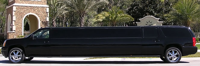 Gainesville Black Escalade Limo