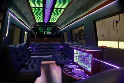 Goodyear Black Party Bus