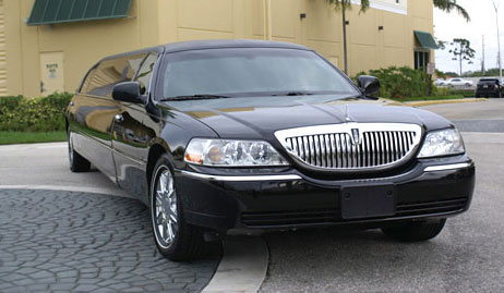 Jacksonville Beach Black Lincoln Limo