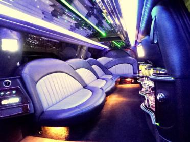 Hollywood Pink Escalade Limo