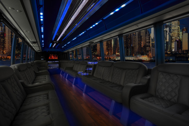 Palm Beach 30 Passenger Party Bus