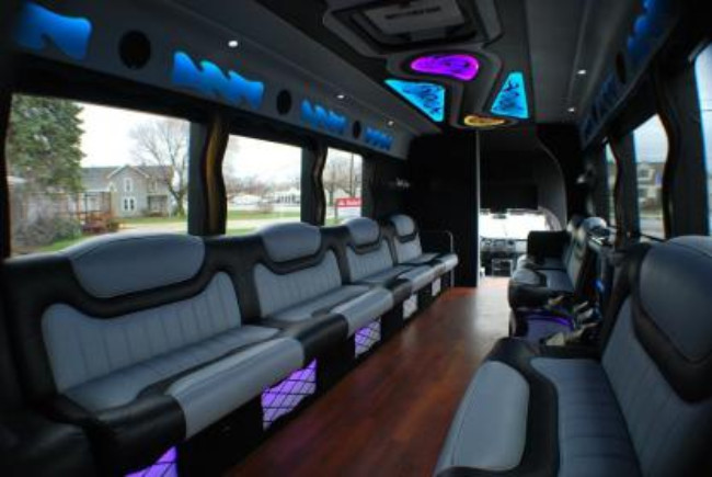 Palm Beach 22 Passenger Party Bus