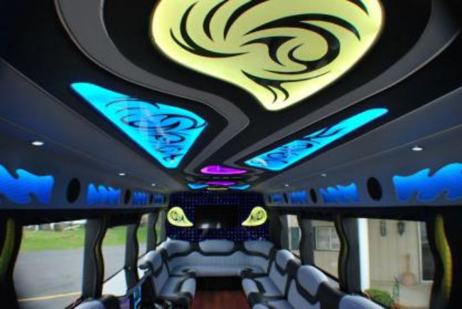 Miami 22 Passenger Party Bus