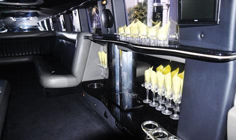 Palm Beach White Hummer Limo