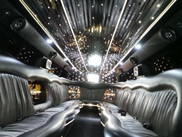 Brownsville Black Hummer Limo