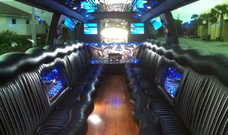 Fort Lauderdale Infiniti Stretch Limo