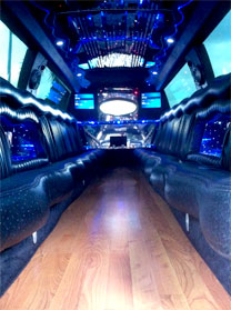 Miami White Escalade Limo