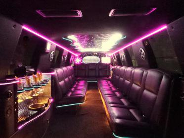 Brownsville White Escalade Limo