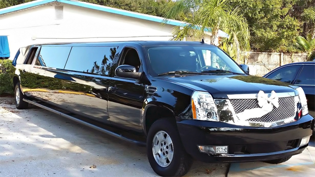 Fort Lauderdale Black Escalade Limo