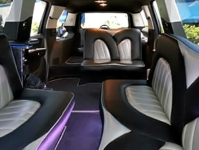 Miami Black Escalade Limo