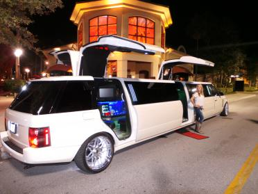 St Petersburg Range Rover Limo