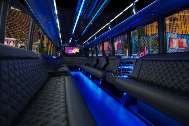 Port Orange 30 Passenger Party Bus