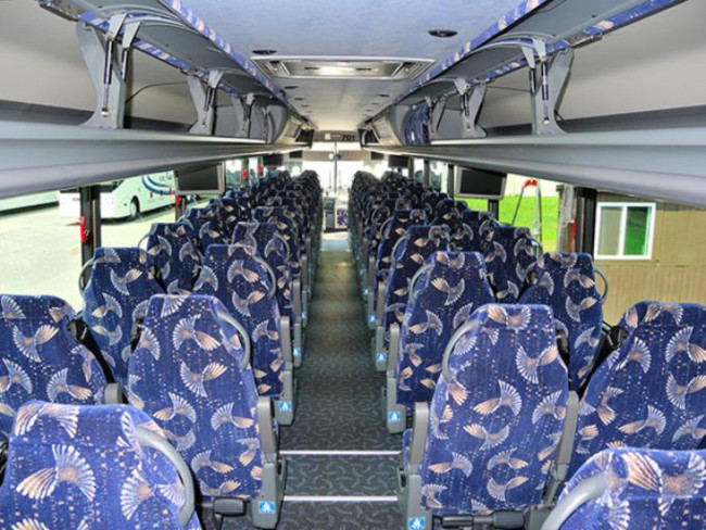 Port Orange 55 Passenger Charter Bus