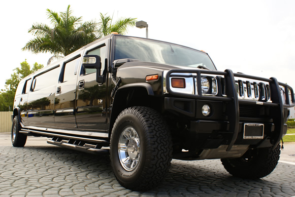 Winter Park Black Hummer Limo