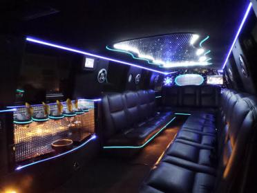 Clermont White Escalade Limo