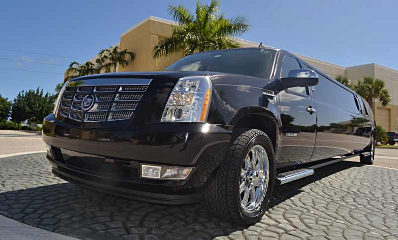 Clermont Black Escalade Limo