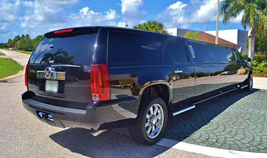 Winter Park Black Escalade Limo