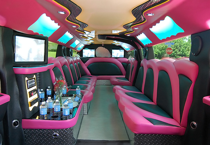 Winter Haven Pink Hummer Limo