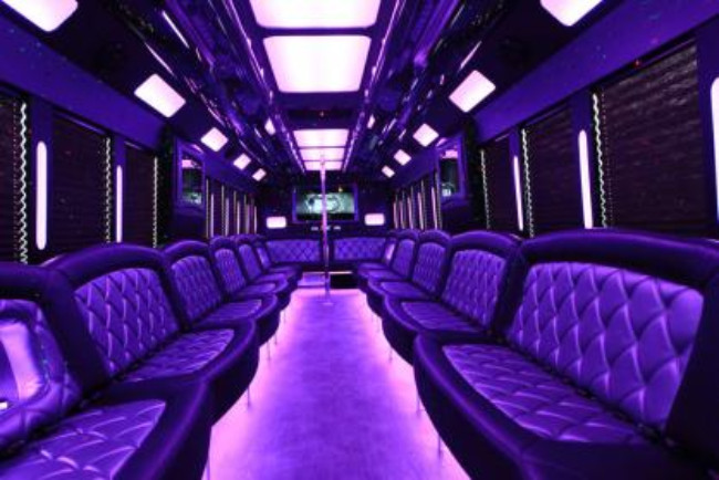 North Port 45 Passenger Party Bus