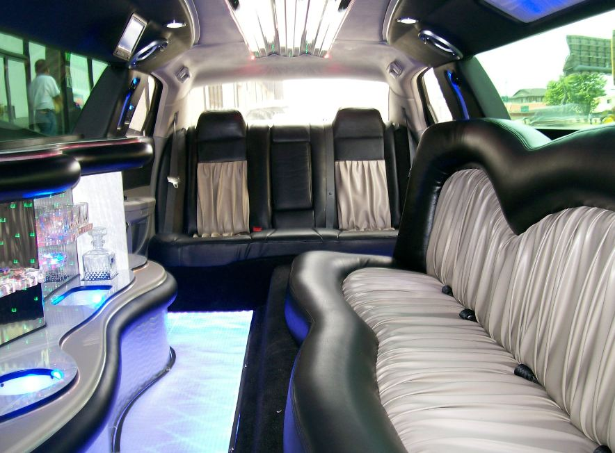 North Port White Escalade Limo