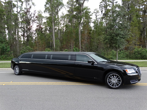 Tarpon Springs Black Chrysler 300 Limo