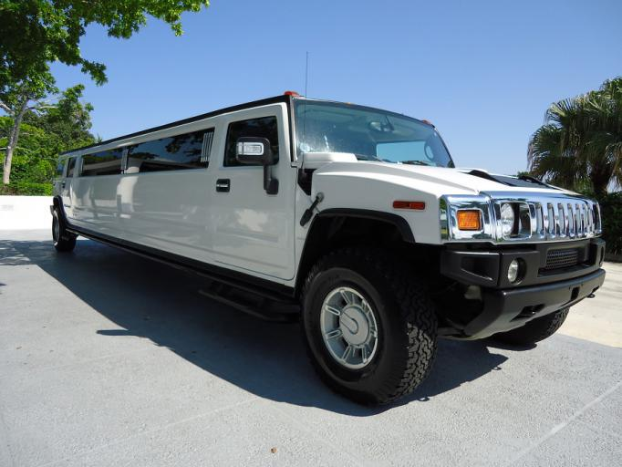 North Port White Hummer Limo