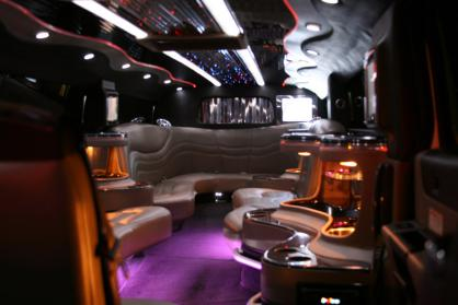 Near You White Hummer Limo